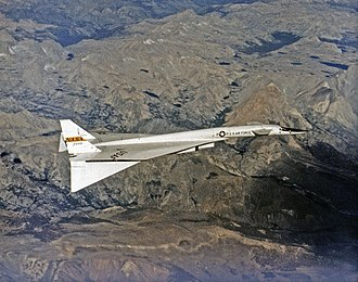 Honeycomb structure - XB-70 of Dryden Flight Research Center in 1968