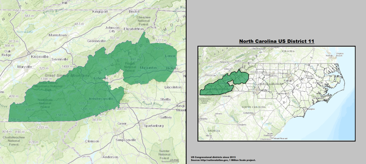 nc congressional district map with United States House Of Representatives 2c North Carolina District 11 on Map Of Jacksonville Fl together with Updated Nc House District Population Estimates And Deviation From Ideal Population Size 2014 furthermore Large Administrative Map Of Georgia State With Roads Highways And Cities moreover North Carolina S Congressional Map Gets Struck Down In Court But Democrats Shouldn T Get Hopes Up together with Article61372882.