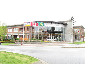 North Delta, British Columbia - The new North Delta Public Safety Building on 84 Avenue serves as the HQ for North Delta's police and Fire and Emergency Services department.