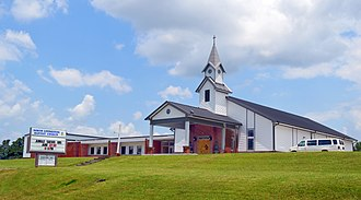 Hampton, Kentucky - Baptist church