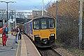 Northern Rail Class 150, 150116, Mossley Hill railway station (geograph 3819696).jpg