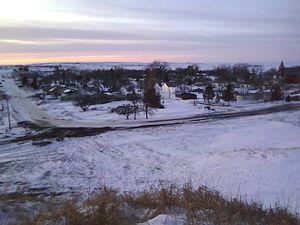 Selfridge, North Dakota - Image: Northern Selfridge Skyline