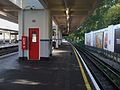 Northfields station platform 1 look east.JPG