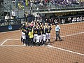 Northwestern vs. Michigan softball 2013 11.jpg