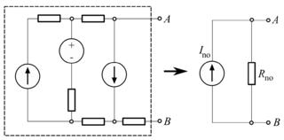 Nortons theorem DC circuit analysis technique