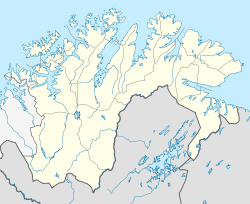 BJF is located in Finnmark