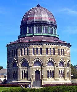 Nott Memorial Hall, al campus d'Union College de Schenectady