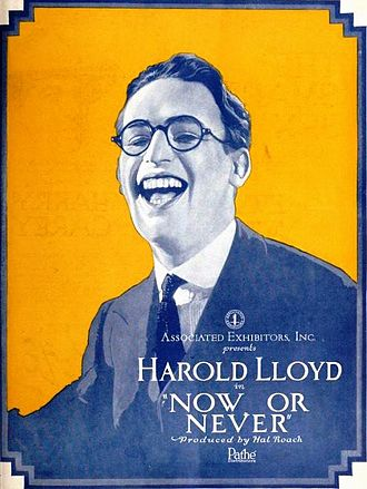 Now or Never (1921 film) - Advertisement