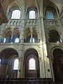 Noyon (60), cathédrale Notre-Dame, chœur, 2e travée, vue vers le sud.jpg