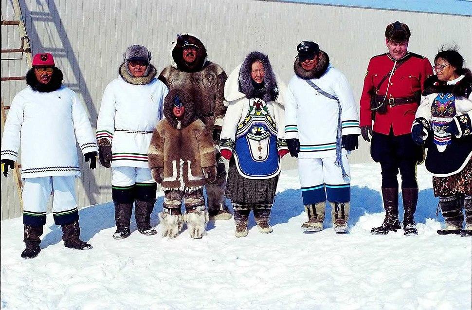 Nunavut-Feierlichkeit (01-04-99)
