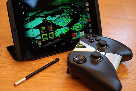 Nvidia Shield Tablet, notable gaming tablet Nvidia Shield Tablet.jpg