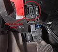 OBD2-Buchse am Mercedes-Benz IMG 1701.jpg