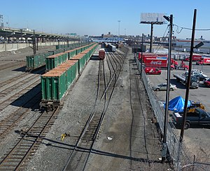 Oak Point Yard - Southwestern part of yard, from 149th Street bridge