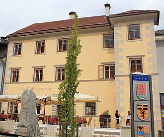 Obervellach - Mining authority building