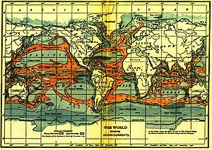 Oceanography - Ocean currents (1911)