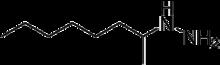 Skeletal formula of octamoxin