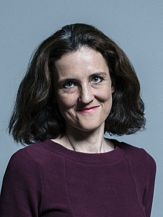 Theresa Villiers - Image: Official portrait of Theresa Villiers crop 2