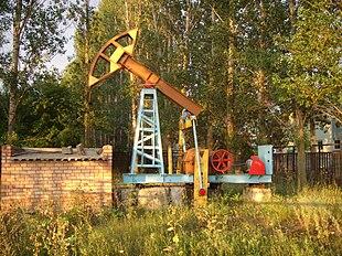 Скважина сульфидной воды в санатории Прилесье, Тольятти