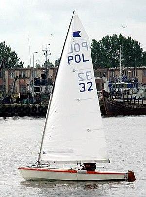OK (dinghy) - Image: Ok dinghy pol 32