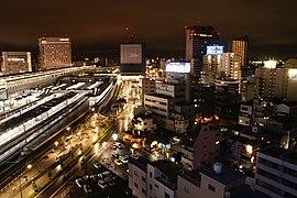 Okayama Station west side - panoramio