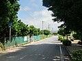 Okinawa pref road 223 in Komesu, Itoman.JPG