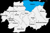 Okres Brezno in Slovakia