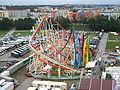 Oktoberfest 2005 - Olympia-Looping - vom Riesenrad.jpg