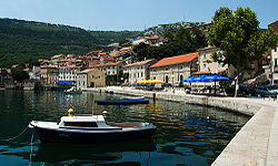 Old part of Bakar, Croatia