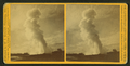Old Faithful, from E. near view, by I. W. Marshall.png