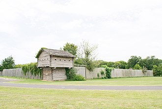 Fort Parker State Park - Image: Old Fort Parker Historic Site 1708131329 (35797170354)