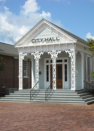 Marion, Alabama - Old Marion City Hall, built in 1832.  It now houses the Alabama Military Hall of Honor.