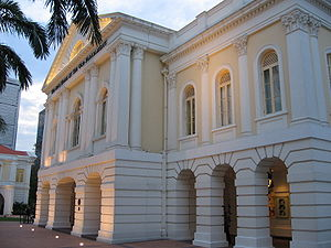 Old Parliament House, Singapore - The Arts House, now occupies the building