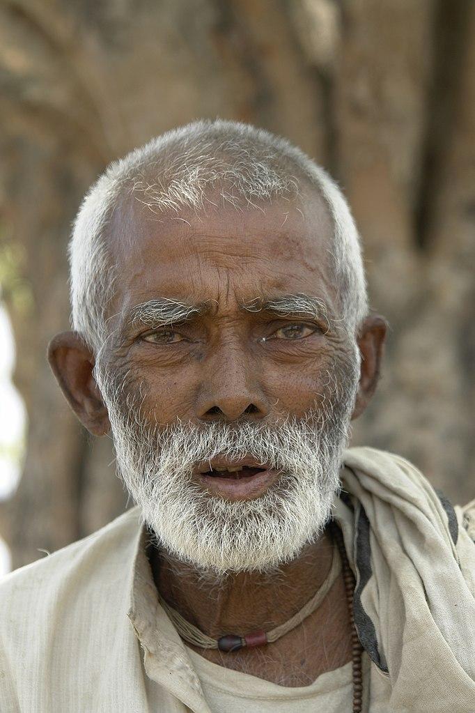 File Old Man  Bihar  India Jpg