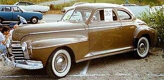 Oldsmobile Series 60 - 1941 Oldsmobile Series 60 coupé