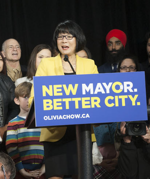 Olivia Chow - Chow's mayoral campaign