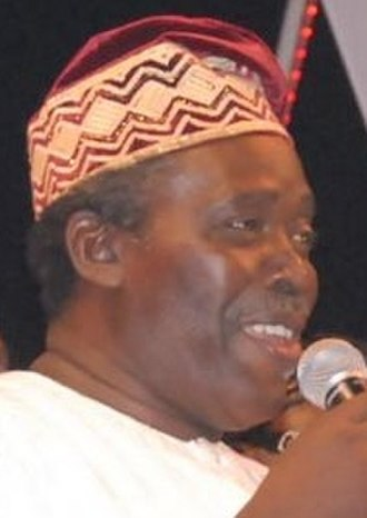 Olu Jacobs - Olu Jacobs at the Africa Movie Academy Awards in Bayelsa State, Nigeria, March 2007