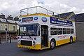 Open-top bus at Porthmadog Harbour station - geograph.org.uk - 2051035.jpg