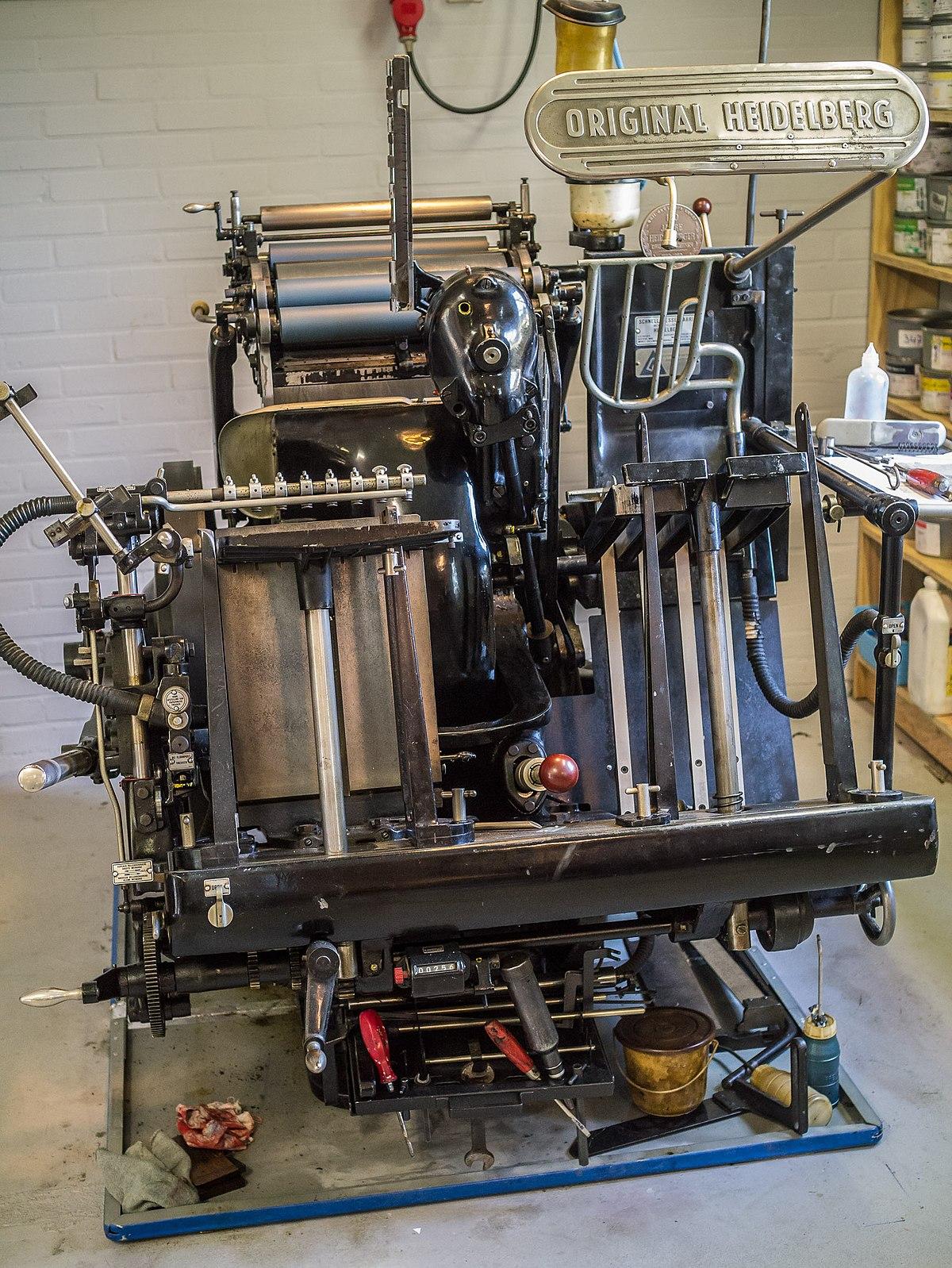 Druckmaschinen Heidelberg