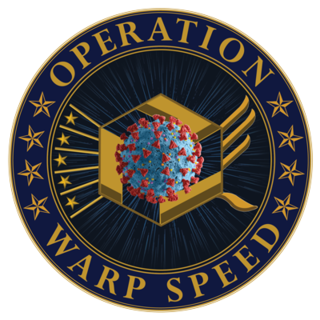 Operation Warp Speed American public–private partnership designed to accelerate COVID-19 vaccine development