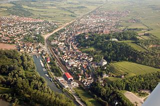 Oppenheim Place in Rhineland-Palatinate, Germany