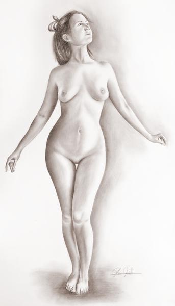 Ordinary girl nude