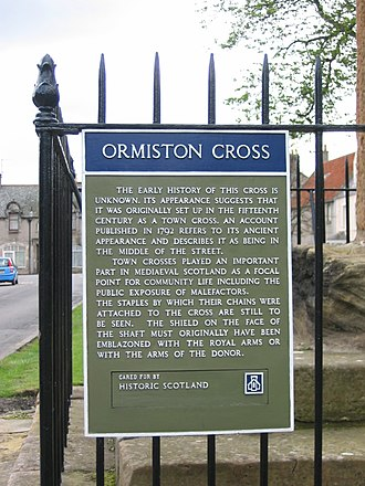 Ormiston - Image: Ormiston Cross 03