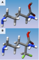 Ornithine and Eflornithine Comparison Structures.tiff