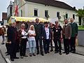 Ortsbildmesse 2014 in Engelhartszell - Gruppenbild mit Landesrat Strugl.jpg