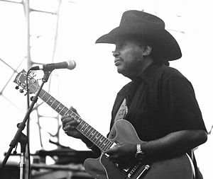 Otis Rush - Rush performing in 2002