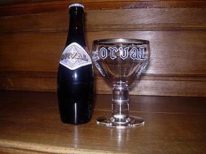 Orval et son verre
