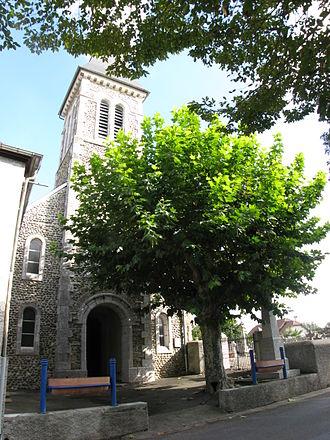 Os-Marsillon - The church of Os-Marsillon