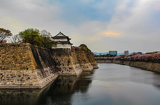 Osaka Castle - Outer moat of Osaka castle