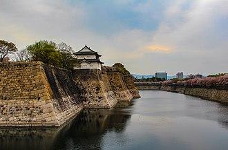 Osaka Castle - Outer moat of Osaka castle
