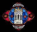 Our Lady's Island Church of the Assumption Clerestory Window Thronus Salomonis 2010 09 26.jpg